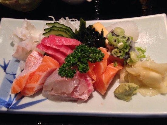 Sushi Hongsam: Sashimi Set, Mittagskarte