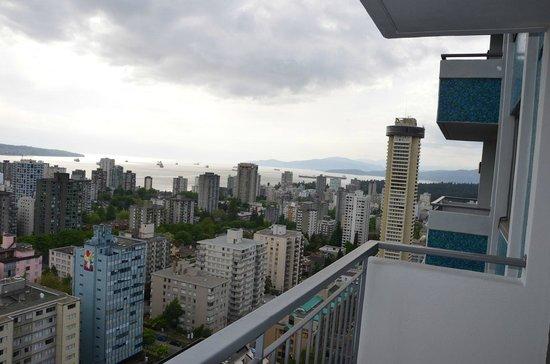 Blue Horizon Hotel: View sea