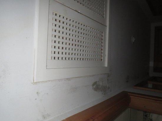 Chich Khan: cause fuite des moisissures apparaissent mais aucune réaction du personnel malgré nos réclamatio