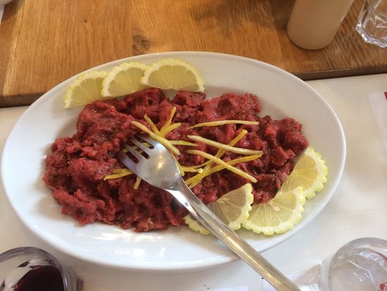 Tuscan Wine Tours by Grape Tours : MY steak tartare