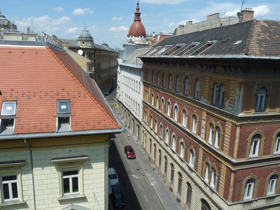 Hotel Parlament: view from 410