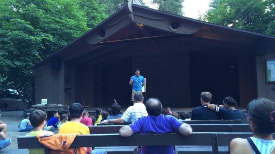 Half Dome Village : Auditorium at Curry Village