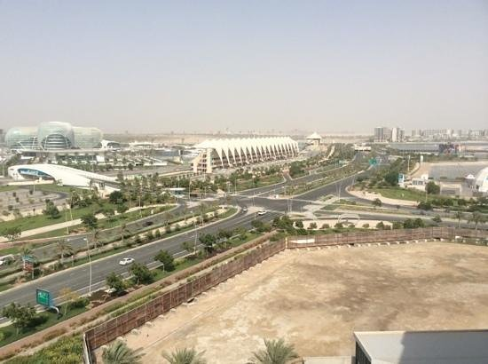 Yas Island Rotana: Room 920 view from balcony