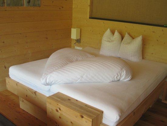 Forsthofalm : super Betten, sehr gut geschlafen......