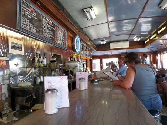 A1 Diner : Inside is classic diner.  Beautiful.