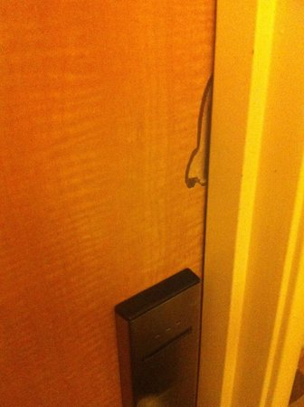 Stratosphere Hotel, Casino and Tower: BROKEN DOOR