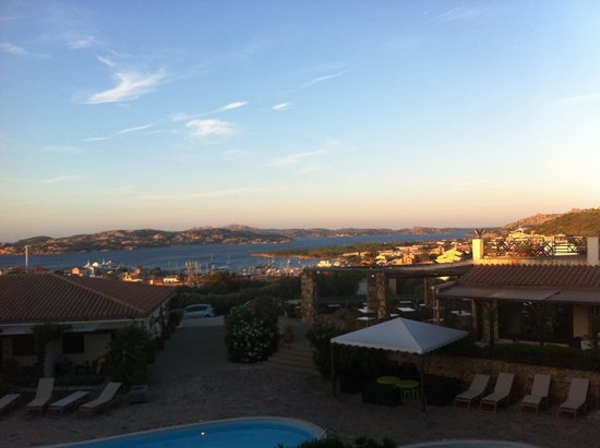 Hotel Palau: Arcipelago della Maddalena dalla mia camera