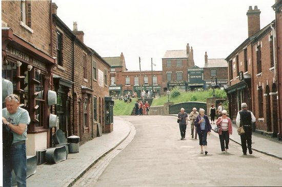 Black Country Living Museum: taken from outside pub