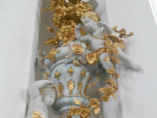 Wieskirche: Wies church: ornamental detail