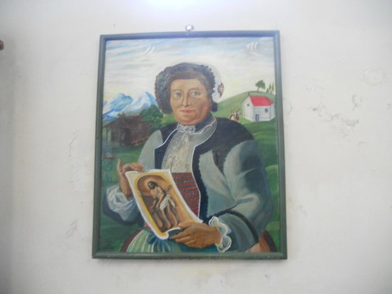 Wies church: farmer who saw the Miracle of Tears