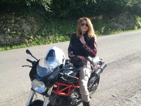 Lake Como Motorbike - Day Tours: Miléne, such a good rider