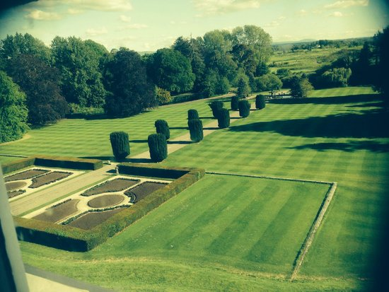 The K Club: View of gardens