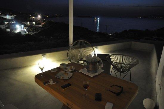 Boheme: Room terrace