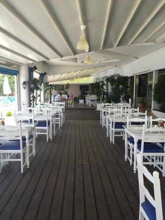 Mariandy Hotel: зона для принятия пищи)