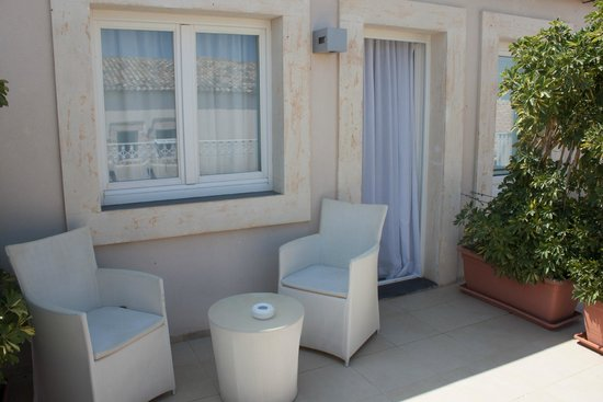 Hotel Borgo Pantano : Terrasse