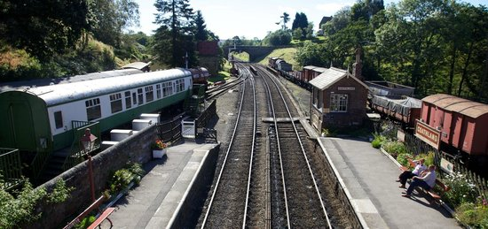 Goathland Station: From the bridge