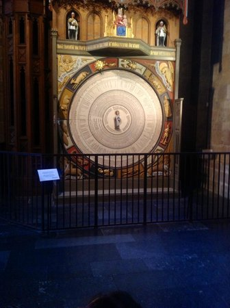 Lund Cathedral: amazing calendar clock