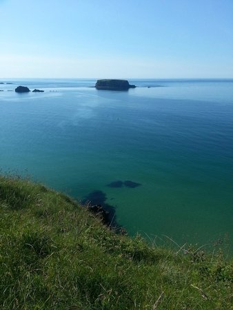 Carrick-A-Rede Rope Bridge: View