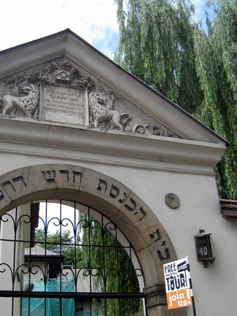 Quartier juif (Kazimierz) : One of the synagogs in Jewish District