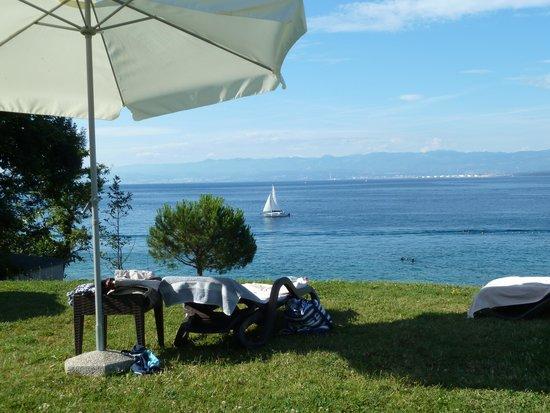 Hotel Pinia: überall Sicht aufs Meer