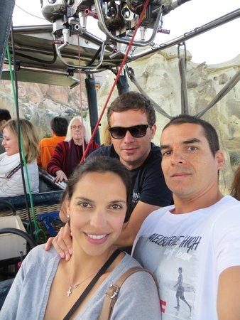 Royal Balloon - Cappadocia: Thanks Goksel for an amazing experience!