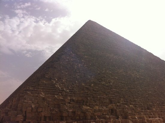 Pyramide de Khéops : at Cheope Pyramids panoramic view all around
