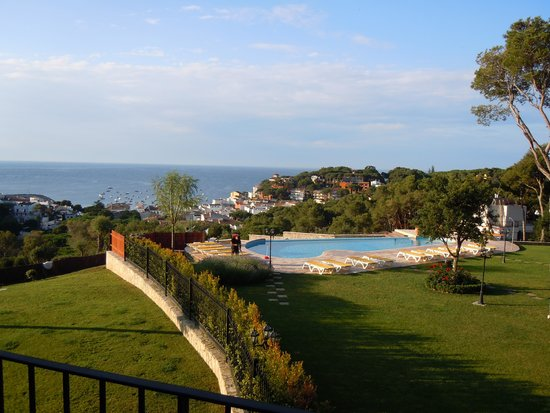 Hotel Blau Mar: view out to sea
