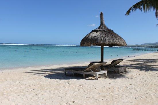 Shanti Maurice - A Nira Resort: Beach View from Junior suite