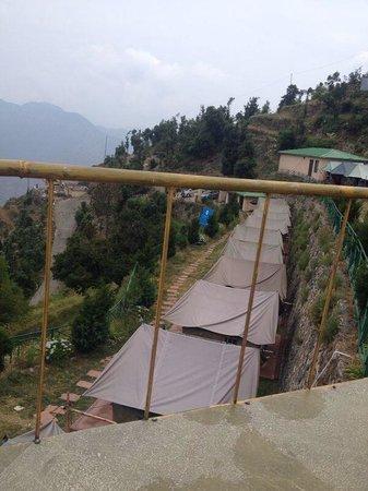Whispering Pines Himalayan Retreat: Tents