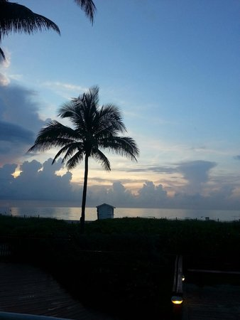 Miami Beach Resort and Spa: Morning view