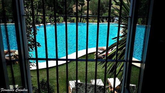 Barceló Montecastillo Golf: Vista piscina desde el dormitorio