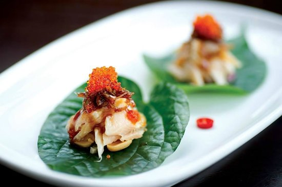 Thai Splendid: Betal leaf / trout