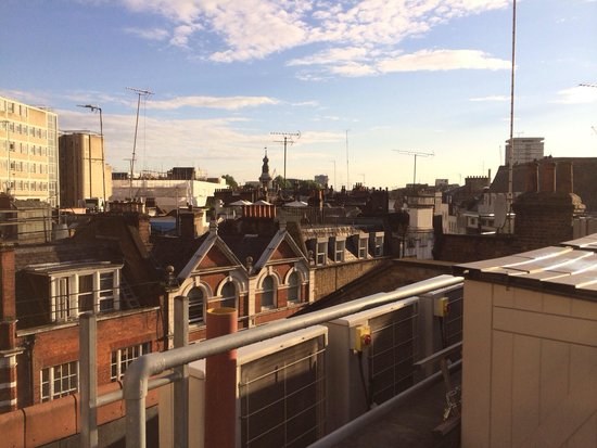 The Z Hotel Soho: View from The Roof Terrace!