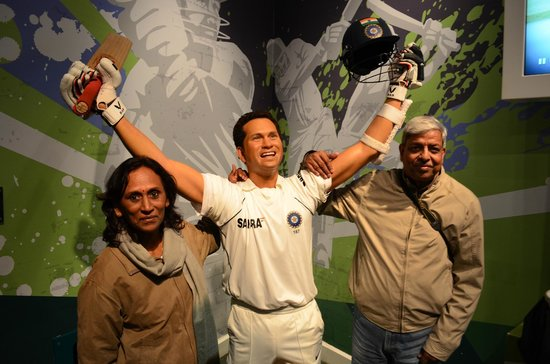 Madame Tussauds London: God of cricket