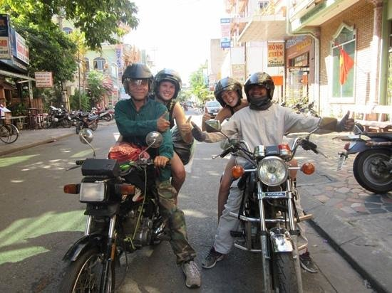 Hue Freedom Riders - Day Tour: Start of a nice adventure!