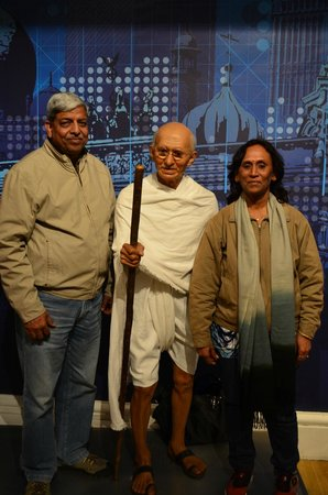 Madame Tussauds London: the father of the nation