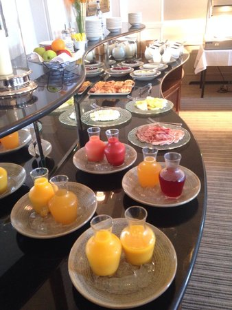 Laura Ashley Hotel The Belsfield: Breakfast buffet