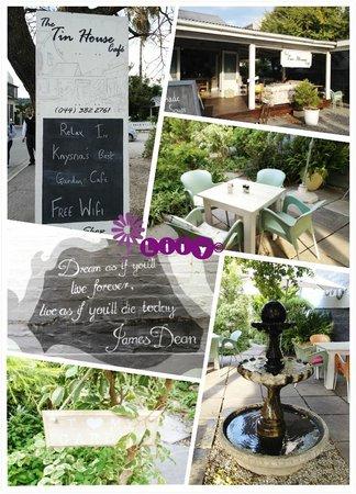 The Tin House Cafe: Decor