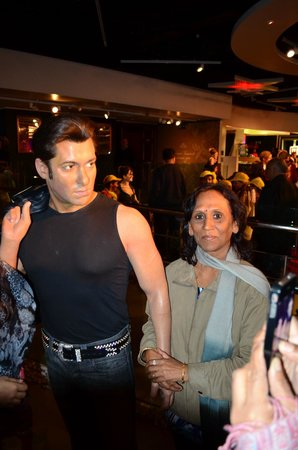 Madame Tussauds London: THE Salman