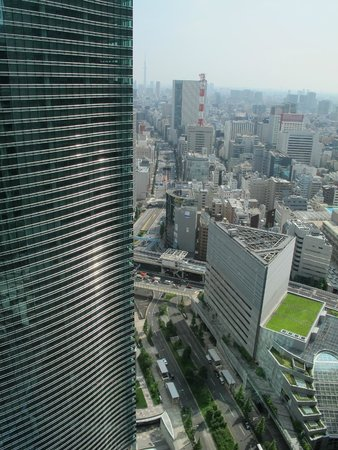 Royal Park Hotel The Shiodome, Tokyo: great views