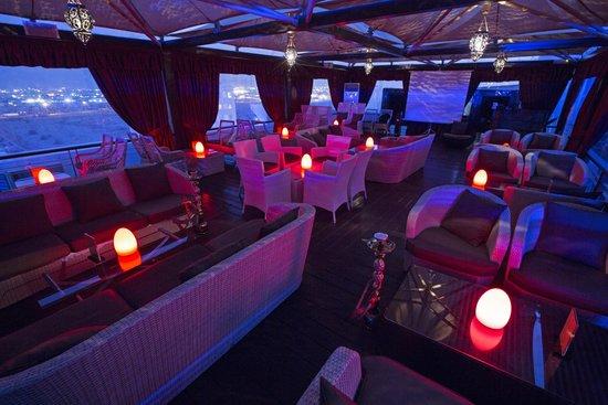 360 Degrees Restaurant: sheesha lounge