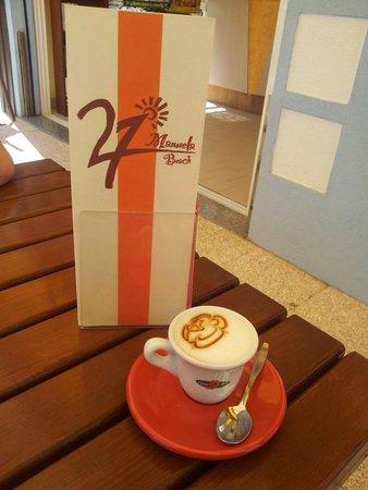 Gatteo, Italy: Caffè macchiato!
