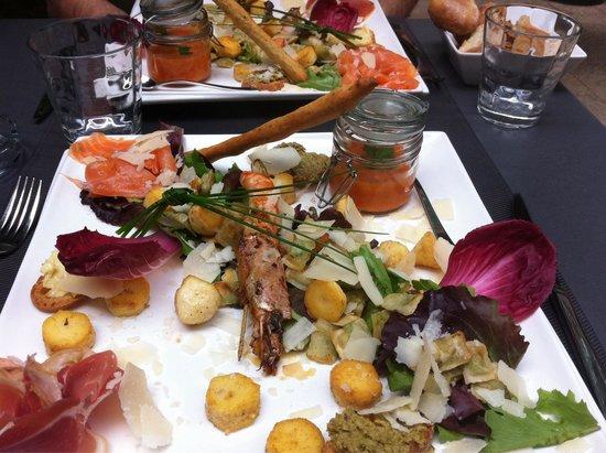Le Moderne : Assiette ISsimes 25€ un pur régal