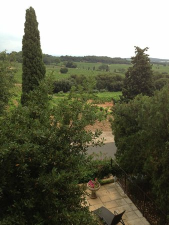 Hostellerie Chateau des Fines Roches : View from room 'Magali'