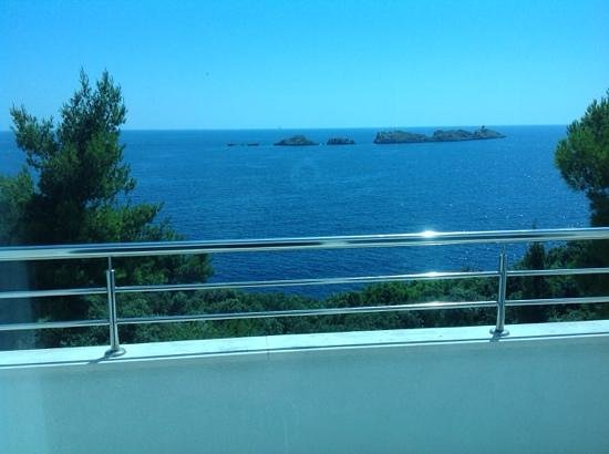 Importanne Resort Dubrovnik: View from the suite.
