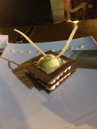 Costa Marina: Dessert carré chocolat