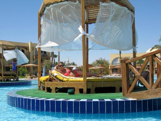 Desert Rose Resort : Остовок в бассейне