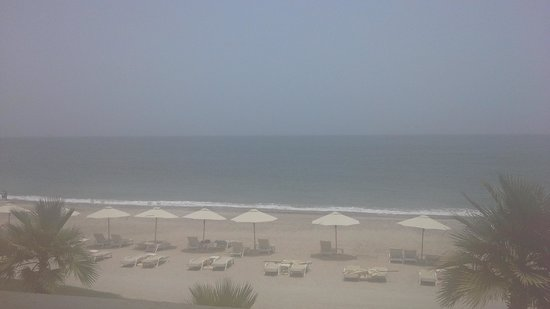Radisson Blu Resort Fujairah: beach view