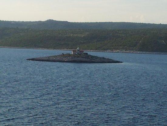 Old Split: il faro e il mare