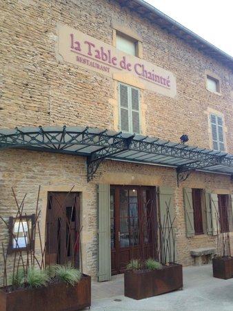 La Table de Chaintré : Our favorite place to have dinner in the Fuisse area!